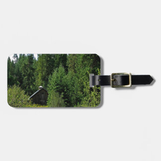 Tree Green Shack Tag For Luggage
