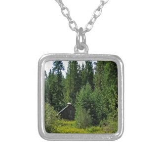 Tree Green Shack Custom Necklace