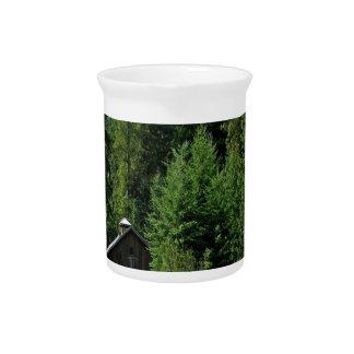 Tree Green Shack Pitchers