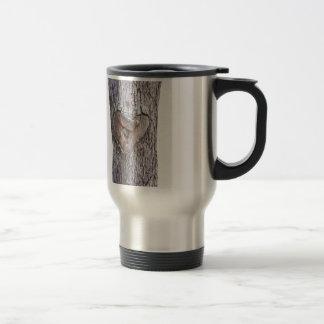 Tree heart stainless steel travel mug