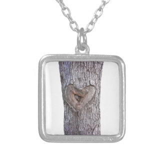 Tree heart pendants
