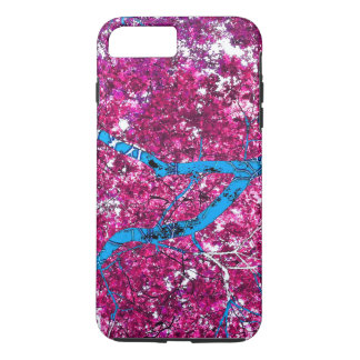 Tree House (magenta & turquoise) iPhone 7 Plus Case