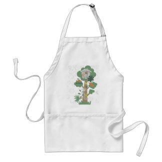 Tree House Toddler Baby Apron