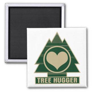Tree Hugger at Heart Magnet