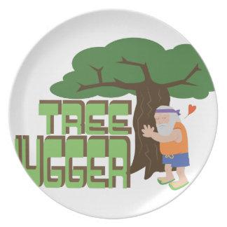 Tree Hugger Dinner Plates