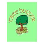 Tree Hugger Dragon Post Cards