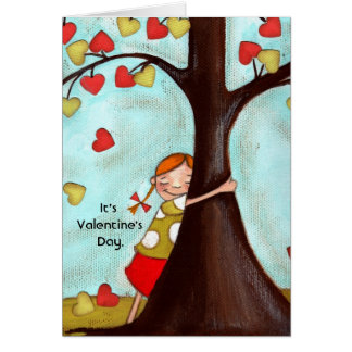 Tree Hugger - Greeting Card