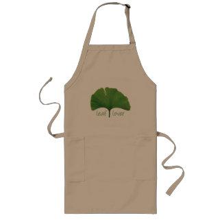 Tree Hugger, Leaf Lover - Ginkgo Long Apron