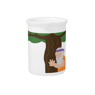 Tree Hugger Man Pitcher