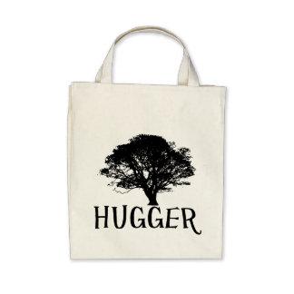 Tree Hugger Organic Grocery Tote Tote Bags