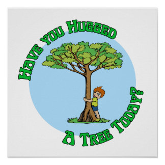 Tree Hugger Posters