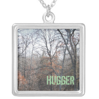 Tree Hugger Square Necklace