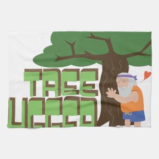 Tree Hugger Tea Towels