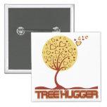 Tree Hugger Tree Hearts Badge