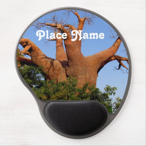 Tree in Madagascar Gel Mouse Mats