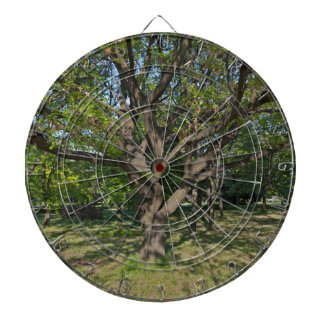Tree in the springtime dartboard