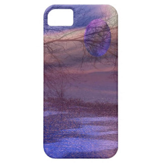 Tree in the wind iPhone 5 cover