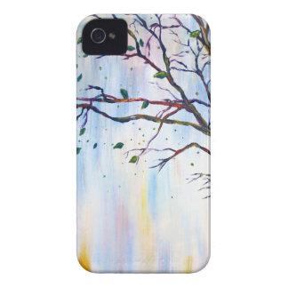 Tree in Wind iPhone 4 Case-Mate Case