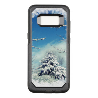 Tree in Winter Snow OtterBox Galaxy S8 Case