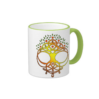 Tree Knot Ringer Mug