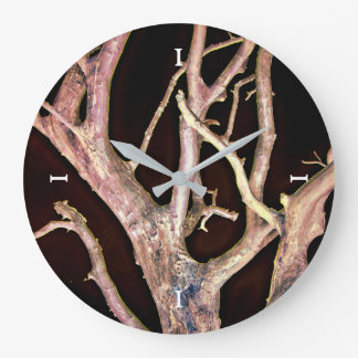 TREE LARGE CLOCK