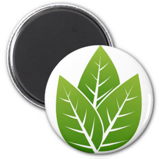 tree  leaf sign magnet