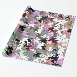 TREE LEAVES WRAPPING PAPER