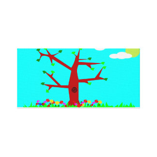 Tree-life Spring Canvas Print