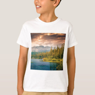 tree line in the wilderness T-Shirt