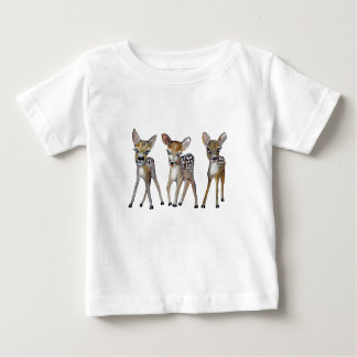 tree little deers baby T-Shirt