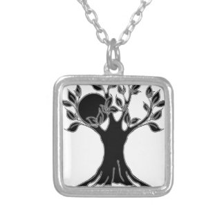 Tree logo- realm black.png personalized necklace