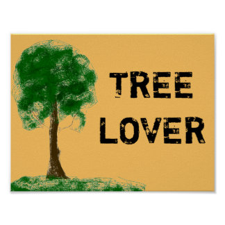 Tree Lover Poster