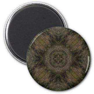 Tree Mandala Design Magnets
