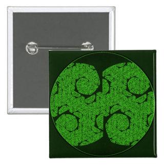 Tree Mandala Heartwood Button