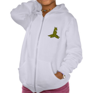 Tree Monster Hooded Pullover
