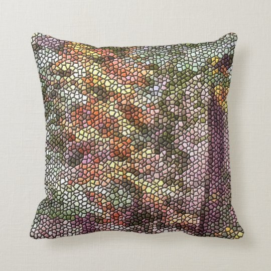 TREE MOSAIC CUSHION