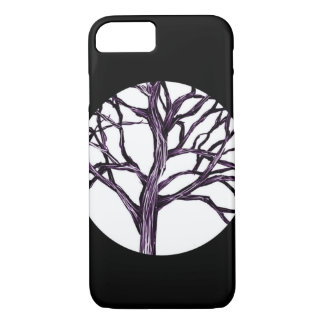 Tree Nature Gothic Goth Spooky Nature Witch Moon iPhone 8/7 Case