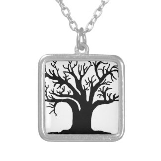 tree personalized necklace
