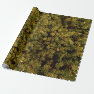 """Tree Needles Wrapping Paper, 30"""" x 6' Wrapping Paper"""