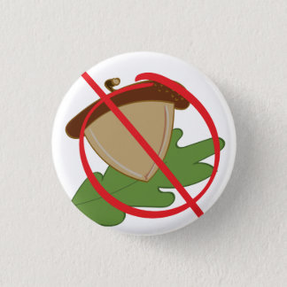 Tree Nut Allergy 3 Cm Round Badge