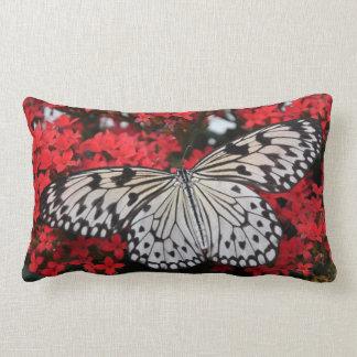 Tree Nymph Butterfly Entomology Lumbar Pillow