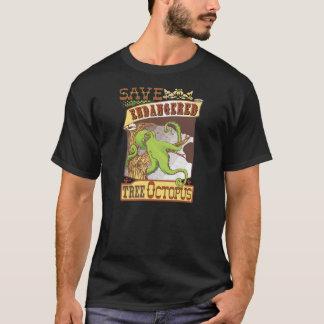 Tree Octopus Retro T-Shirt