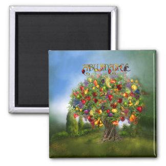 Tree Of Abundance Art Magnet