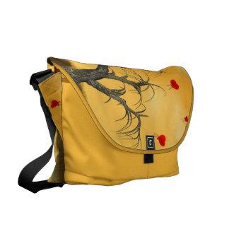 Tree of Broken Hearts Messenger Bag