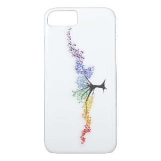 Tree of colorful butterflies iPhone 8/7 case