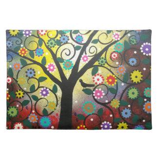 Tree Of Colors BY LORI  American MoJo Place Mats