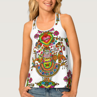 Tree of Dead Tattoo Tank Top