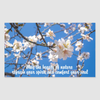 Tree of Flowers inspirational stickers