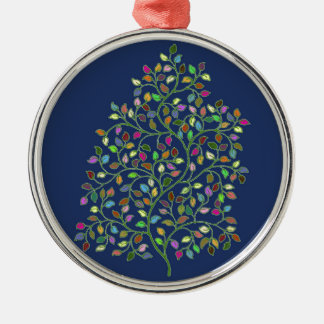 Tree of Fortune Metal Ornament