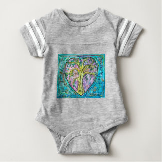 Tree of growth baby bodysuit